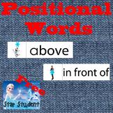 Frozen: Positional Words