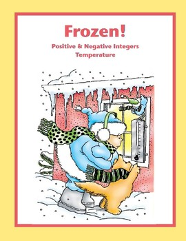Frozen! (Positive and Negative Integers/Temperature)
