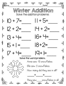 Winter Printables & Party Pack
