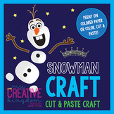 Snowman Winter Craft