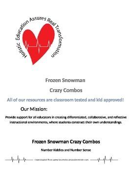 Frozen Snowman Crazy Combos
