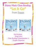 """""""Frozen"""" Song Lyric Close Reading Questions"""