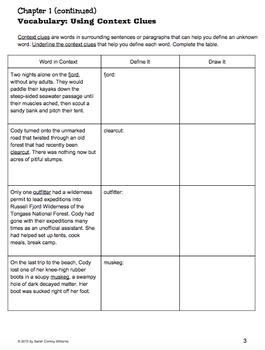 """Frozen Stiff"" Novel Study Guide"