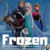 Frozen Study Guide-Common Core Aligned for Middle School