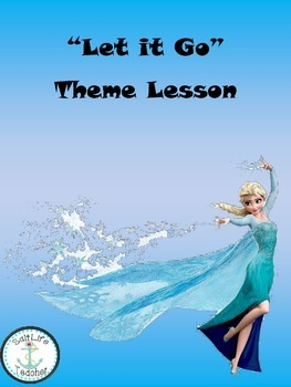 "Frozen Style Theme Lesson with lyrics from ""Let it Go"""