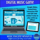 Frozen Symbols | Music Definitions | Digital Music Game