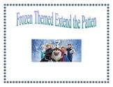 Frozen Themed Extend the Pattern