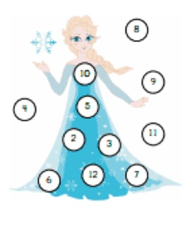 Frozen Themed Learning Games
