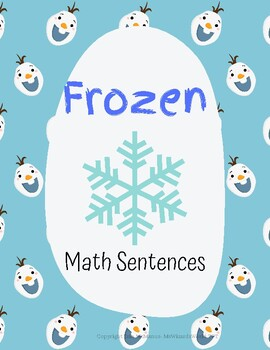 Frozen Themed Math Problems