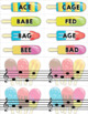 Treble Clef & Bass Clef Note Matching Centers - Frozen Treat Edition