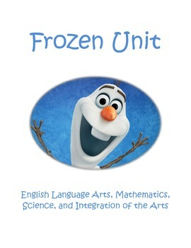 Frozen Unit: ELA, Math, Science, and more