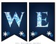 Frozen Winter Welcome Banner for Classroom