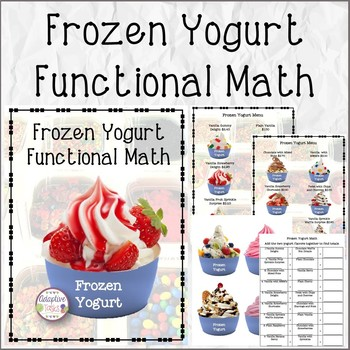 Frozen Yogurt Functional Math