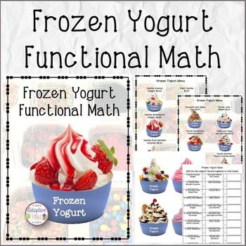 Frozen Yogurt Functional Math
