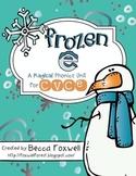 Frozen e {a magical CVCe phonics unit}