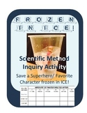 Frozen in ICE!!! Save a character in a Winter Ice Melt Scientific Method Inquiry