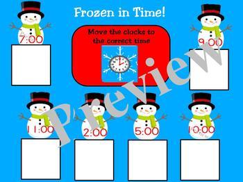 Frozen in Time for Promethean Board