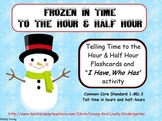 Frozen in Time to the Hour and Half Hour Cards and game
