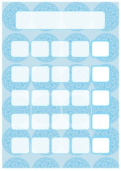 'Frozen'-inspired Behaviour Charts