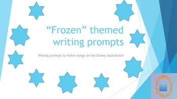 Frozen inspired writing prompts