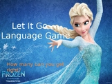 Frozen - what language is she singing