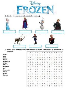 Frozen_Teaching / learning English