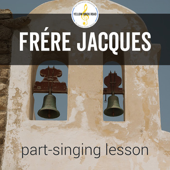 Frère Jacques: a song for teaching part-singing