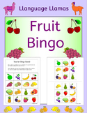 Fruit Bingo for EFL ESL EAL MFL