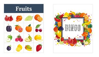 Fruits 4x4 Bingo