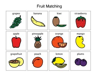 Fruit Activity Matching