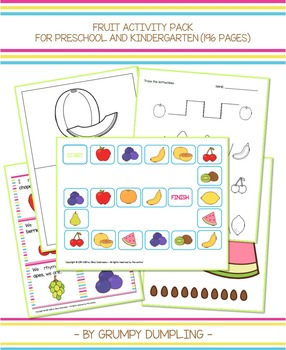 Fruit Activity Pack (196 Pages)