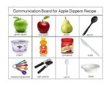 Fruit: Apple Dippers Recipe Communication Board