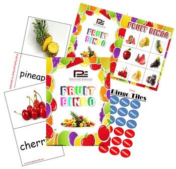 Fruit Bingo - Fun Game (New Design)
