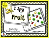 Fruit Book (2)  - Adapted 'I Spy' Easy Interactive Reader