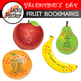 Fruit Bookmarks PERFECT for Valentine's Day