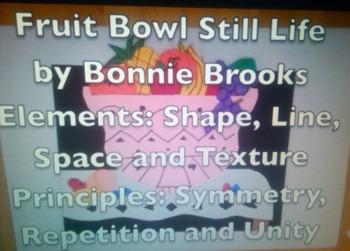 Fruit Bowl Still Life for Elementary Students