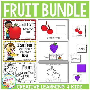 Fruit Interactive Books - Matching - Puzzles and More Set