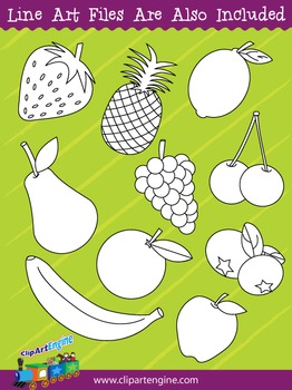 Fruit Clip Art Collection