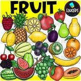 Fruit Clip Art Bundle {Educlips Clipart}