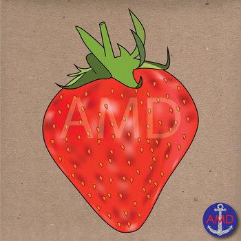 Fruit Clip Art- Delicious Apple, Banana, Strawberry, Grapes, Watermelon & More!