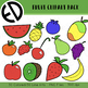 Fruit Clip Art Pack