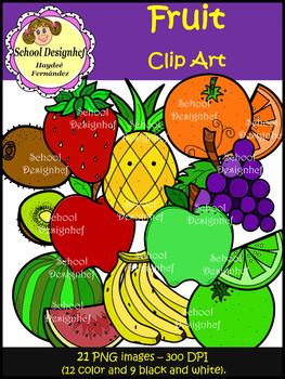 Fruit Clip Art - Food Group (School Designhcf)