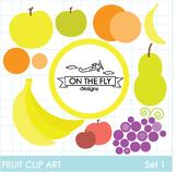Fruit Clip Art Set 1