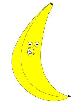Happy Fruit Clip Art for Personal or Commercial Use