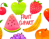 Fruit Clip art, Food Clipart, for personal and commercial use