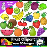 Fruit Clipart Bundle - 54 images! For Commercial and Personal Use