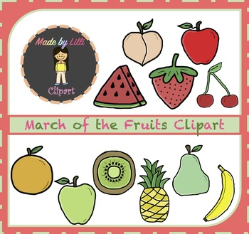 Fruit Clipart {Food Clipart}