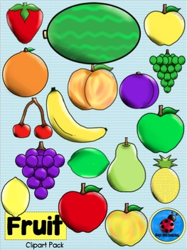 Clipart: Fruit Pack