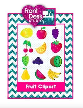 Fruit Clipart Set