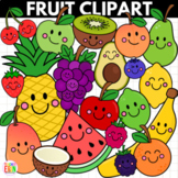 Fruit Clipart - With and Without Faces